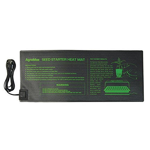 AgroMax 8.5-Inch by 21-Inch Seedling Heat Mat by AgroMax