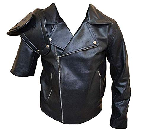 Mad Max Road Warrior Jacket / Mad Max 2 Jacket SouthBeachLeather (Large) (Mad Max Fury Road Blu Ray Release)