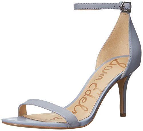original for sale Sam Edelman Women's Patti Heeled Sandal Dusty Blue Leather discount low shipping fee outlet huge surprise free shipping sale sale original LY7OPL