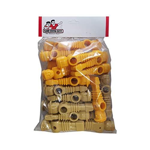 (Game Room Guys 26 Yellow/Tan Imperial Replacement Foosball Men)