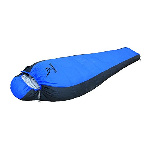 Meanhoo 74x 29'' Warm Winter Sleeping Bag Envelope Sleeping Bags with Stroage Bag for Camping Hiking Travelling Backpacking (Blue)