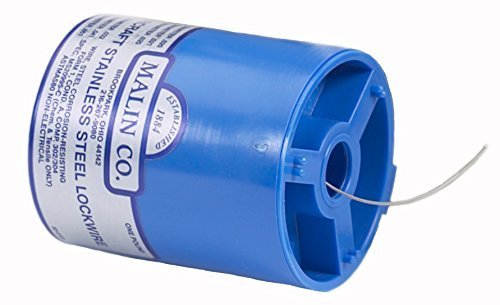 Malin - MS20995C Stainless Steel Safety Wire / Lockwire, Canister, .041 Dia,, 221 ft. Model: by Malin