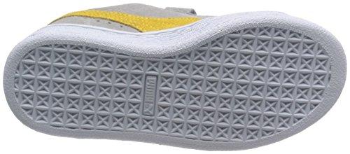 Puma T&J Tom, Unisex - Kinder Sneaker Grau - Gris (Limestone Grey/Snapdragon)