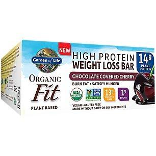 Garden of Life Organic Fit Bar Chocolate Covered Cherry (12 per carton) ()