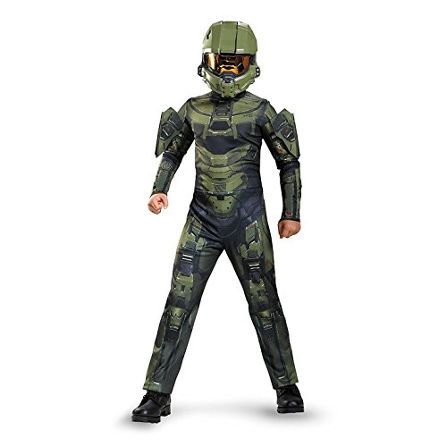 Halloween Costumes For A 22 Year Old - Master Chief Classic Costume, X-Large (14-16)