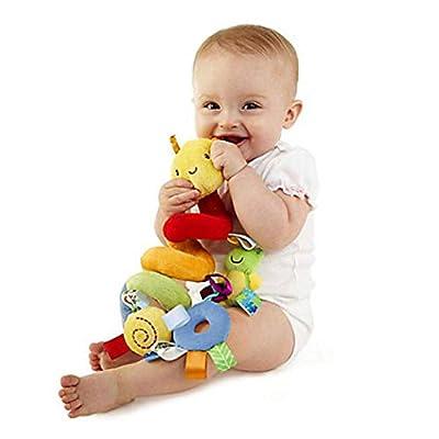 Langle New Kids Infant Baby Girls Boys Cartoon Shape Wrap Around Bed Doll to Stuffed Animals & Teddy Bears: Home & Kitchen
