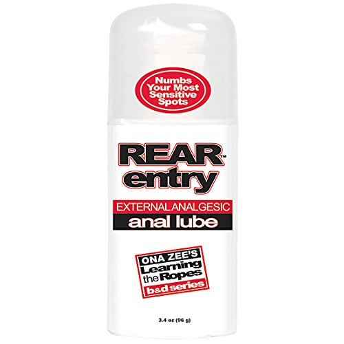 rear entry anal lube