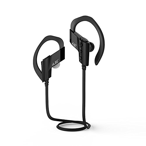 Price comparison product image Bluetooth Headphones,  Boofab Best Wireless Sports Earphones w / Mic IPX7 Waterproof HD Stereo Sweatproof Earbuds for Gym Running Workout 8 Hour Battery Noise Cancelling Headsets (Black)