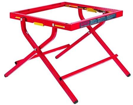 Bosch TS1000 sierra de mesa portátil plegable soporte: Amazon.es ...
