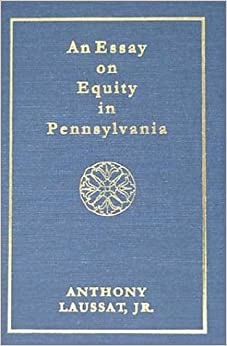 Book An Essay on Equity in Pennsylvania