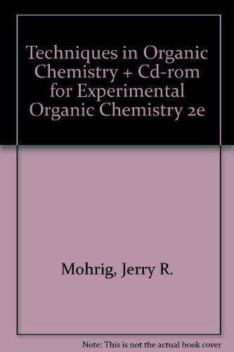 Techniques In Organic Chemistry Pdf