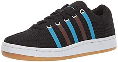 K-Swiss Womens Classic 88 Knit Clouds and Dirt Black Size: 5