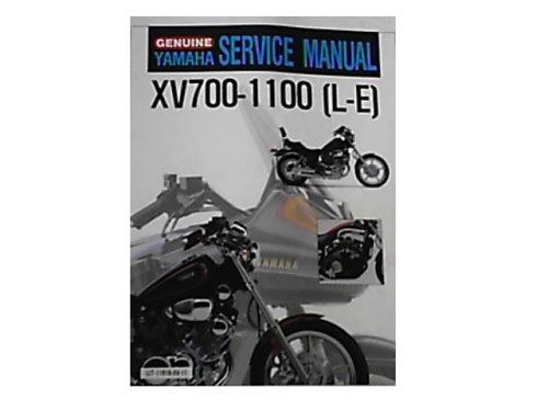 Genuine YAMAHA Service Manual XV700- 1100 (L - E) (LIT -11616-XV-11,, XV700L/LC, XV1000L/LC) -