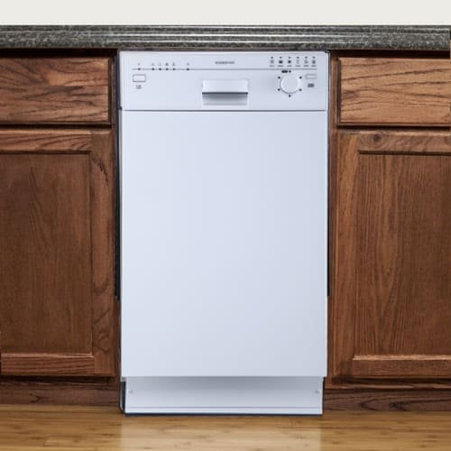 ": EdgeStar BIDW1801W 18"" Built-In Dishwasher - White"