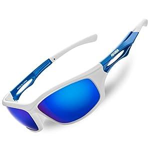 AFARER polarized sports sunglasses for mens womens fishing driving running hiking baseball biking cycling sunglasses eyewear TR3