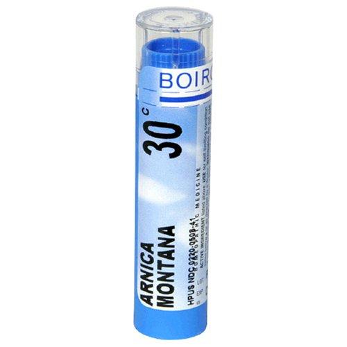Boiron homéopathique Arnica Montana médecine, Granules 30C, 80-Count Tubes (Pack de 5)