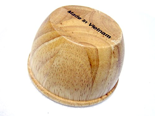 "New Mini Wooden Mortar & Pestle Grinding Bowl Set Garlic Crush Pot Kitchen Tool 5 Mortar Size : 8.5 x 5cm(3.3"" x 1.9"") Pestle Size : 10cm(3.9"") Materials : Rubber Wood"