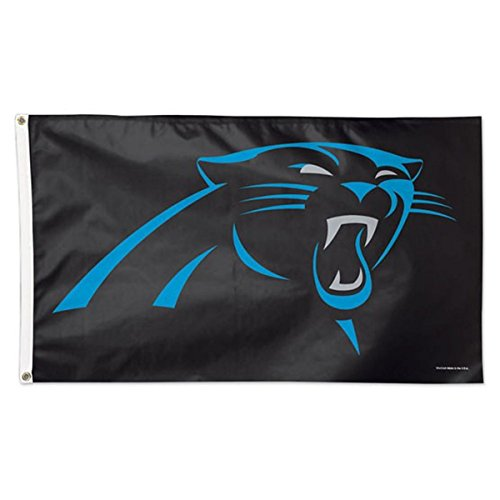 Carolina Panthers Flag - NFL Carolina Panthers Deluxe Flag, 3' x 5'