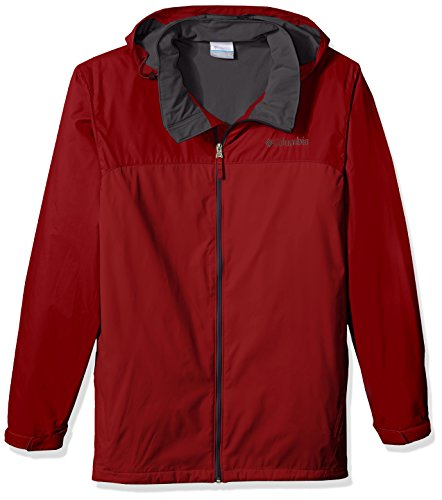 Columbia Men's Big and Tall Glennaker Lake Lined Rain Jacket, Red Element, - Red Element