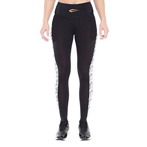 SMILODOX - Pantalón deportivo - para mujer negro/blanco