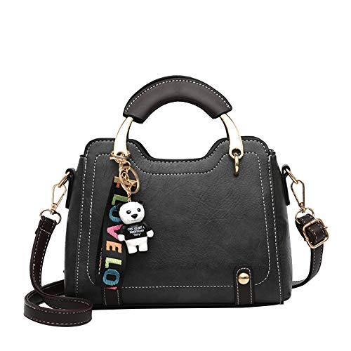 Piccole Messenger Spalla Di Coreano Black Autunno Portatile Sacchetto Modo Femminile Bag Texture Donne Selvaggio Del Borsa fSwUx7qdT