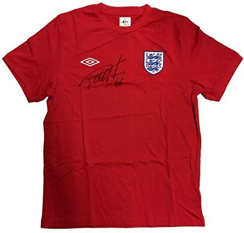 (Sir Geoff Hurst Signed England Umbro Replica Jersey BAS)