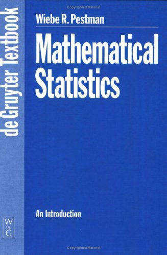 Mathematical Statistics: An Introduction (De Gruyter Textbook)