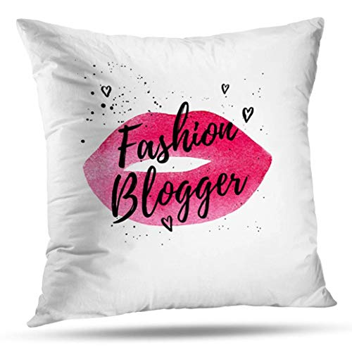 Pakaku Quote Pillowcase, Throw Pillow Covers, Fashion Beautiful Card Poster Home Sofa Cushion Cover Gift Double Sided Pattern 20 x 20 inch (Difference Between Social Marketing And Social Media)
