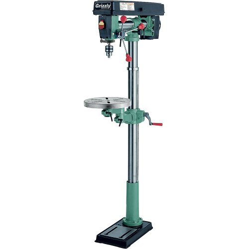 Grizzly-G7946-5-Speed-Floor-Radial-Drill-Press