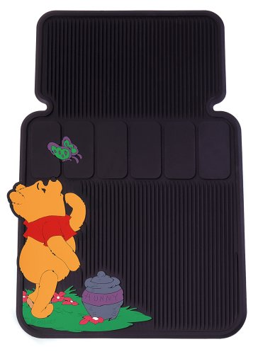 Winnie The Pooh And Butterfly Universal-Fit Molded