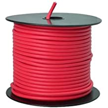 Southwire 55671523 Primary Wire, 12-Gauge Bulk Spool, 100-Feet, Red