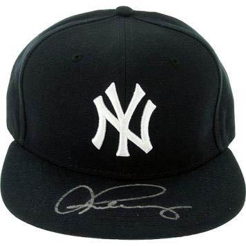 Alex Rodriguez Signed Steiner Baseball hat-Official