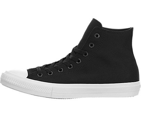 Converse Unisex Chuck Taylor All Star II Hi Basketball Shoe Black/White 6