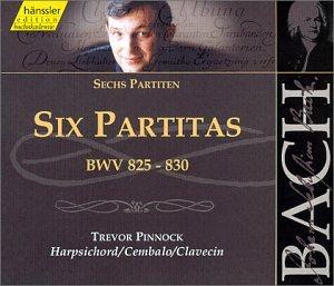 UPC 040888211525, Bach: Six Partitas, BWV 825-830 (Edition Bachakademie Vol. 115)