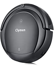 Clymen Q9 Robot Vacuum Cleaner With Voice Control,Robotic Vacuum Cleaner for Pets, Connects to Wifi ,Compatible With Alexa app,Powerful Suction with Roller Brush