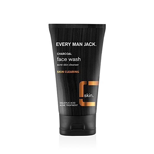 (Every Man Jack Charcoal Face Wash, Skin Clearing, Fragrance Free, 5-ounce)