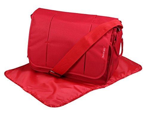 Clair de Lune Oxford Changing Bag (Red) by Clair de Lune