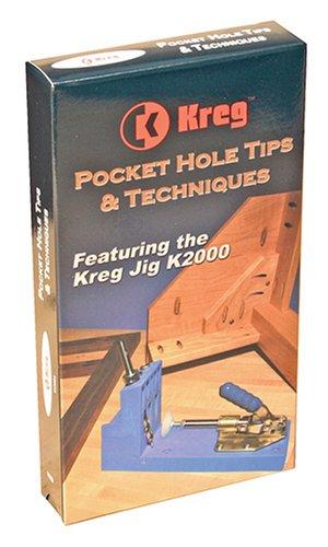 Kreg Mini Kreg Jig (Kreg V02 - Pocket Hole Tips & Techniques Video)