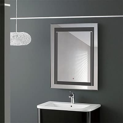 HYH LED Bathroom Silvered Mirror with Touch Button(DK-OD-CK150)