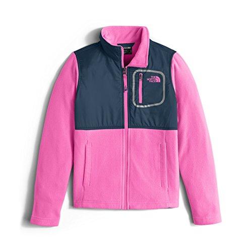 The North Face Girl's Glacier Track Jacket - Gem Pink - XL