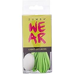 Zumba Women's Light up Laces Walking Shoe, Green, 10 M US
