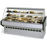 Federal Industries SQ-6B Market Series Non-Refrigerated Bakery Case