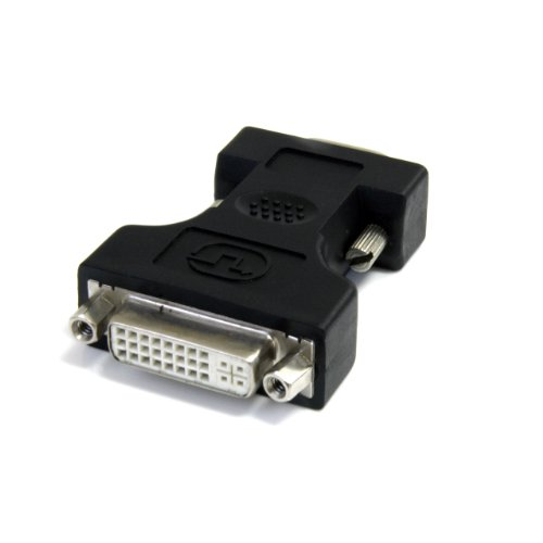 StarTech.com DVI to VGA Cable Adapter - Black - F / M - DVI I to VGA Adapter for Your VGA Monitor or Display (DVIVGAFMBK)
