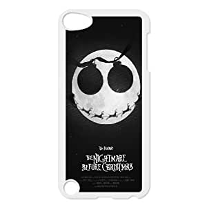 Hjqi - DIY The Nightmare Before Christmas Plastic Case, The Nightmare Before Christmas Unique Hard Case for iPod Touch 5