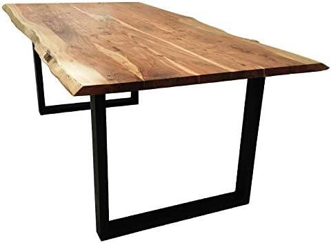SAM Baumkantentisch 200x100 cm Quarto, Esszimmertisch aus