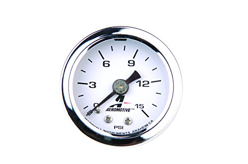 Aeromotive 15632 Fuel Pressure Gauge - 0 to 15 psi ()