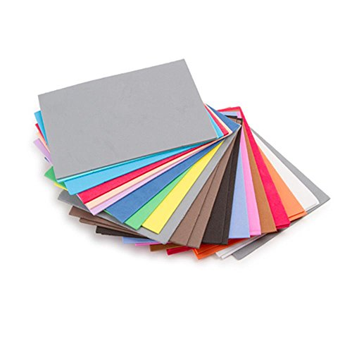 Darice 30003709 Foamies Foam Sheets Value Pack - Assorted Colors - 4.5 x 6 inches - 100 pieces