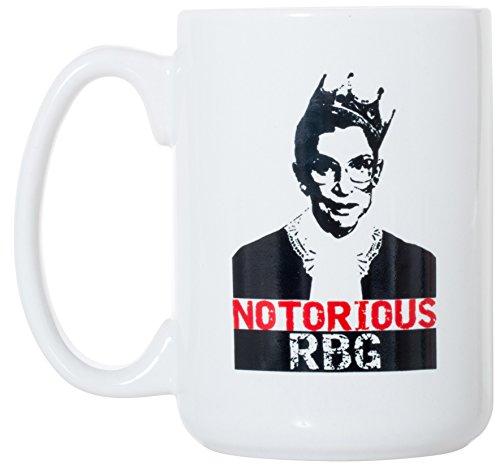 Notorious RBG - Ruth Bader Ginsburg Mug 15 oz Deluxe Large Double-Sided Mug