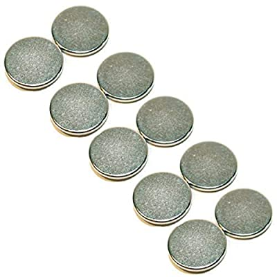 Melody Jane Dollhouse 5 Pairs of Magnetic Discs for Holding Lights, Pictures etc 1cm Wide: Toys & Games