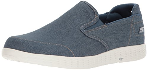 Go Glide Uomo Sneaker Skechers Blu Denim Success On The Infilare UEqtwR4